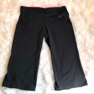 Adidas Capri Cropped Running Pants